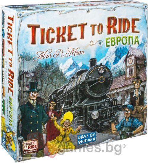 Настолна игра Ticket to Ride - Europe