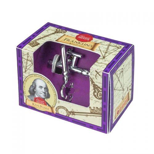 Метален 3D пъзел Professor Puzzle - Ключовете на Бенджамин Франклин