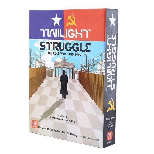 Настолна игра Twilight Struggle - Deluxe Edition