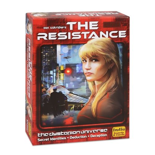 Настолна игра The Resistance (3rd Edition)