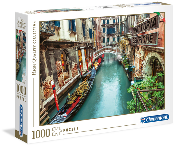 Пъзел Clementoni от 1000 части - Венециански канал