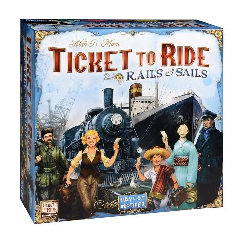 Настолна игра Ticket to Ride - Rails and Sails
