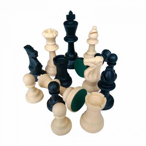 Пластмасови фигури за шах, 95мм