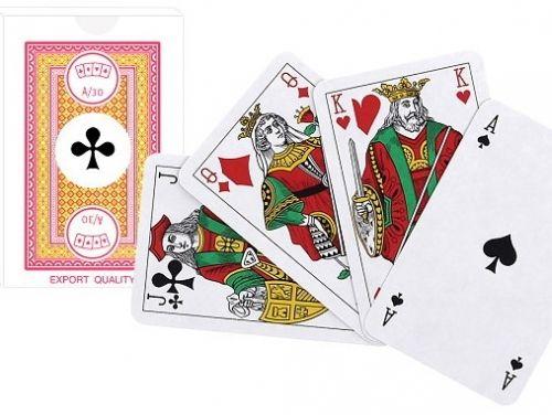 Карти за бридж и канаста Modiano, червен гръб