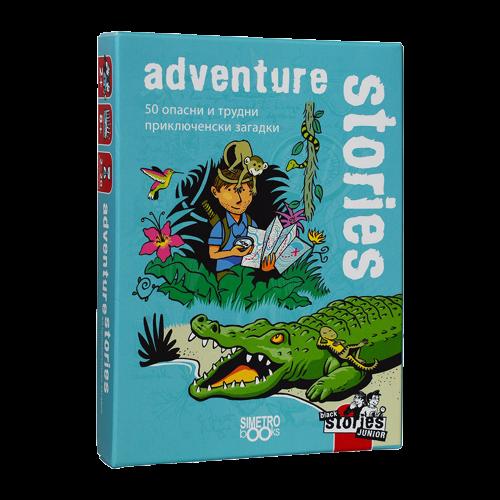Картова игра Black Stories Junior, Adventure Stories