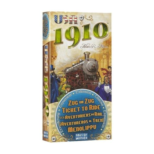 Разширение за Ticket to Ride - USA 1910