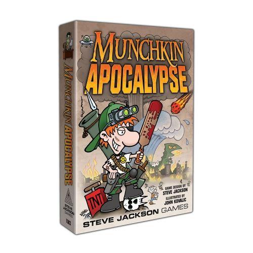 Настолна игра Munchkin Apocalypse