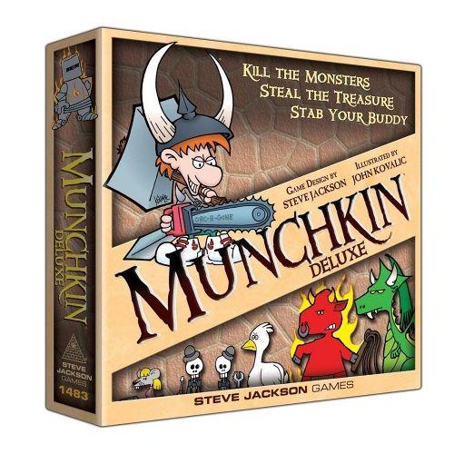 Настолна игра Munchkin Deluxe