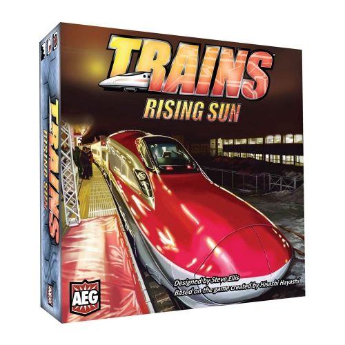 Настолна игра Trains - Rising Sun