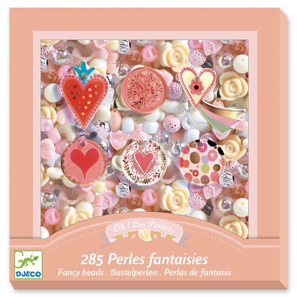 Djeco игра създай бижута Fancy beads Hearts