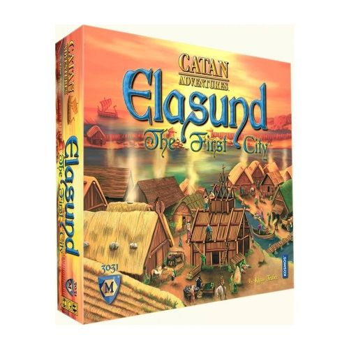 Настолна игра Elasund - The First City