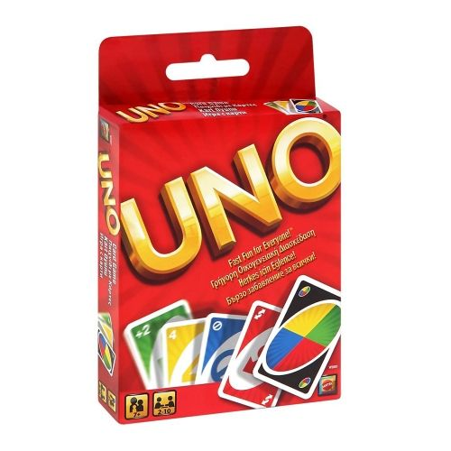 Картова игра Mattel - Uno