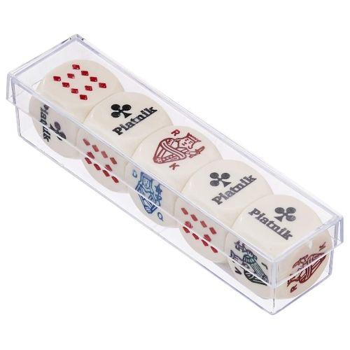 Зарове за покер, 5 бр., 22 mm
