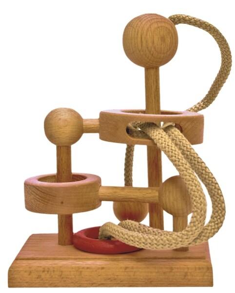 Дървен логически пъзел Deico Games - IQ Games Basic 19