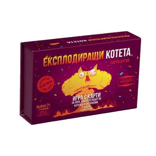 Настолна игра Експлодиращи Kотета - Парти Кутия