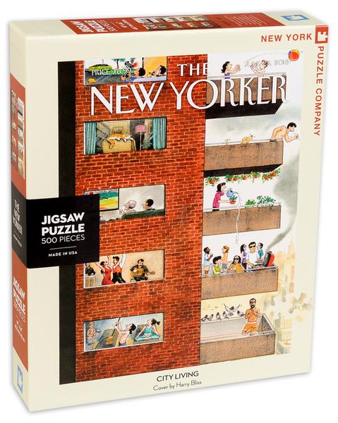 Пъзел New York Puzzle от 500 части - Градски живот