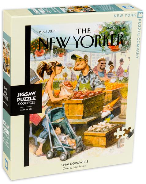 Пъзел New York Puzzle от 1000 части - Малки производители