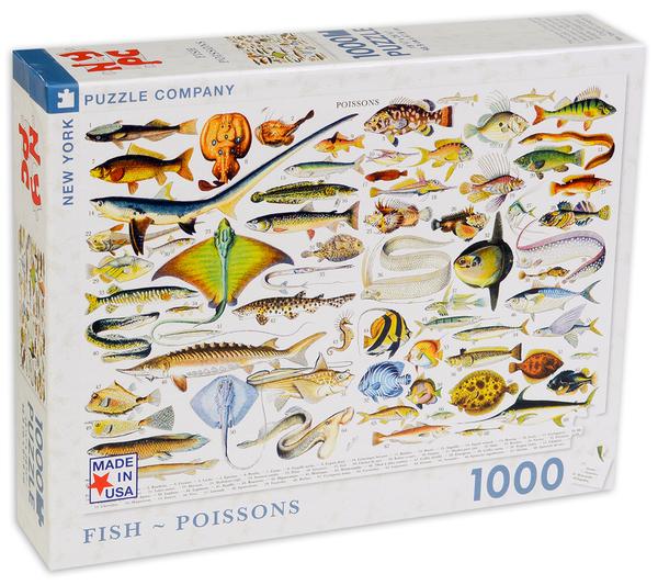 Пъзел New York Puzzle от 100 части - Риби