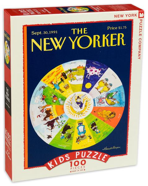 Пъзел New York Puzzle от 100 части - Зодиак Mother Goose