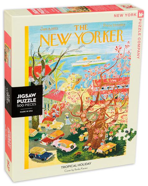 Пъзел New York Puzzle от 500 части - Тропическа почивка
