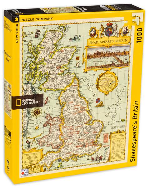 Пъзел New York Puzzle от 1000 части - Шекспирова Британия