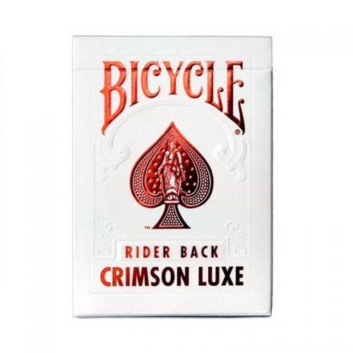 Карти за игра Bicycle Metallux Crimson