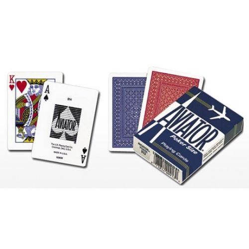 Карти за игра Aviator покер размер
