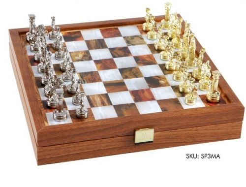 Луксозен шах Manopoulos, 27x27 см