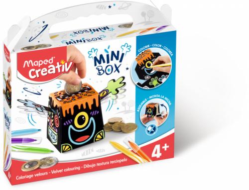 Творчески комплект Maped Mini Box - Направи си касичка