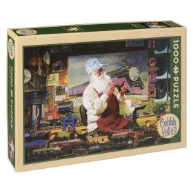 Пъзел от 1000 части Cobble Hill - Хобито на Дядо Коледа, Том Нюсъм
