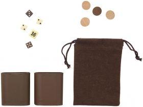 Комплект 6 игри - табла, шах, дама, домино, зарове и карти