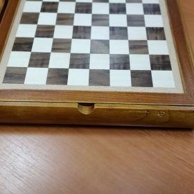 Луксозен комплект 6 игри - табла, шах, домино, крибидж, карти, зарове