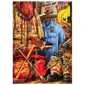 Пъзел Master Pieces от 1000 части - Пожарникарски мечти, Дан Хатала
