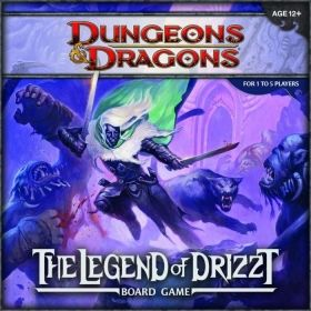 Настолна игра Dungeons&Dragons - The Legend of Drizzt