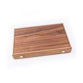 Ръчно изработена табла Manopoulos - Американски орех и Черен дъб, 48x30 см