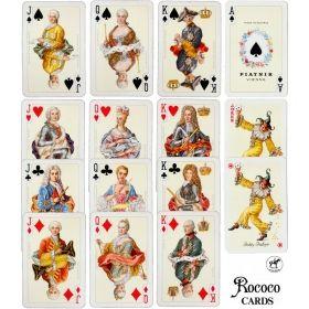 Карти за игра Piatnik Rococo, Bridge WK