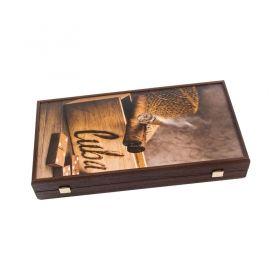 Табла за игра Manopoulos - Robusto Cigar,  48x26 см