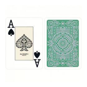 Покер карти Texas Poker 100% Plastic, светлозелен гръб