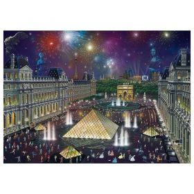 Пъзел Schmidt от 1000 части - Светлините на големия град