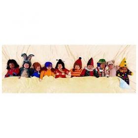 Панорамен пъзел Educa от 1000 части - Десет в креватчето, Ан Гедес