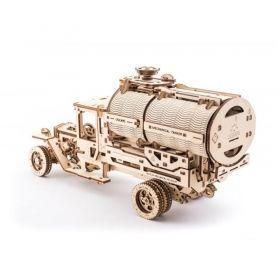 Механичен 3D пъзел Ugears - Камион- цистерна