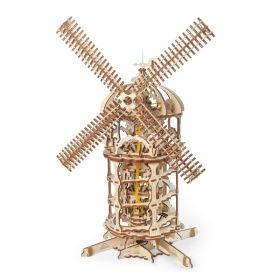 Механичен 3D пъзел Ugears - Вятърна мелница