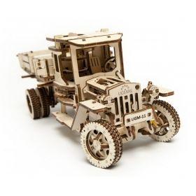 Механичен 3D пъзел Ugears - Камион UGM 11