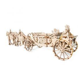 Механичен 3D пъзел Ugears - Кралска карета