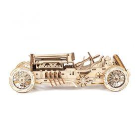 Механичен 3D пъзел - кола кабриолет