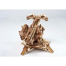 Механичен 3D пъзел Ugears - Кула с арбалет