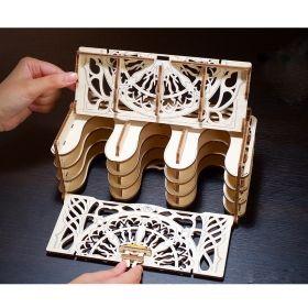 Механичен 3D пъзел Ugears - Картодържател