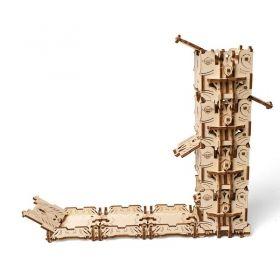 Механичен 3D пъзел Ugears - Кула за зарове