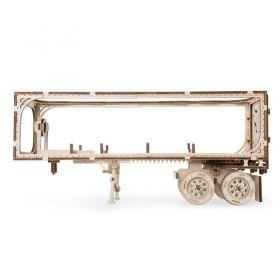 Механичен 3D пъзел Ugears - Ремарке Heavy boy VM