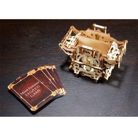 Механичен 3D пъзел Ugears - Кутия за карти